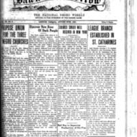 The Dawn of Tomorrow, 1925-08-29, vol. 3, no. 6