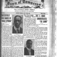 The Dawn of Tomorrow, 1924-07-12, vol. 2, no. 1