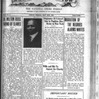 The Dawn of Tomorrow, 1924-07-19, vol. 2, no. 2