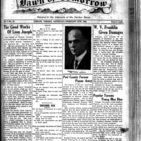 The Dawn of Tomorrow, 1924-02-16, vol. 1, no. 31