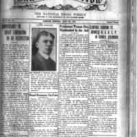 The Dawn of Tomorrow, 1925-05-09, vol. 2, no. 34