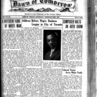 The Dawn of Tomorrow, 1924-02-23, vol. 1, no. 32