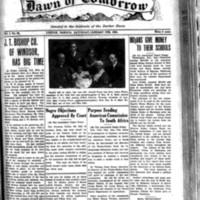 The Dawn of Tomorrow, 1924-01-05, vol. 1, no. 25